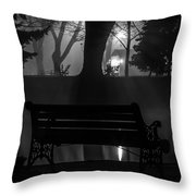 Shapes In The Park  Throw Pillow