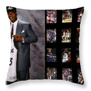 Shaquille O'neal Throw Pillow
