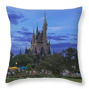 Share The Magic Throw Pillow