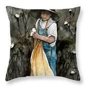 Sharecroppers Son Throw Pillow