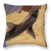Baby Shark Throw Pillow