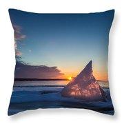 Shark Fin Throw Pillow