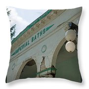 Sharon Springs Imperial Bath 2 Throw Pillow
