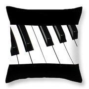 Sharps And Flats Throw Pillow