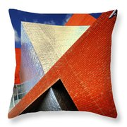 Sharps Throw Pillow