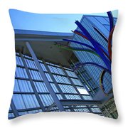 Shaw Public Library Throw Pillow