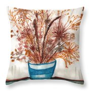 Shaylynne And Vaughn's Bouquet Throw Pillow