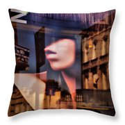 She - Women Throw Pillow