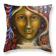 She Agreed Throw Pillow