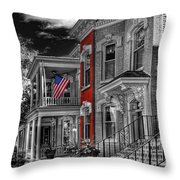 She Has Served With Honor Throw Pillow