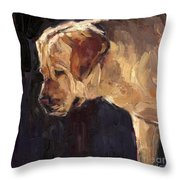 She Is A Looker Throw Pillow