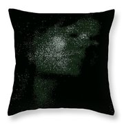 She Is Made Of Stardust Throw Pillow
