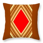 She Said Love Was Red  Throw Pillow