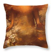 She Shall Be Called Woman Throw Pillow