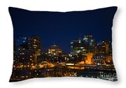 She Sparkles In The Night Throw Pillow