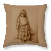She Will Dance Throw Pillow