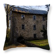 Sheards Mill In October Throw Pillow