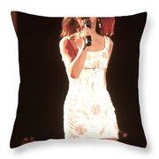 Sheena Easton Throw Pillow