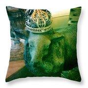 Sheep King Throw Pillow