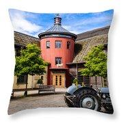 Sheepdrove Eco Conference Centre Throw Pillow