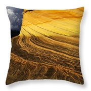 Sheer Magic North Coyote Buttes Arizona Throw Pillow