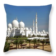 Sheikh Zayed Bin Sultan Al Nahyan Grand Throw Pillow