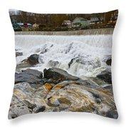 Shelburne's Falls Throw Pillow by Randi Shenkman