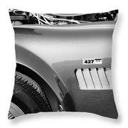 Shelby Cobra 427 Engine Throw Pillow