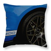 Shelby Cobra Gt 500 / Ford Throw Pillow