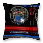 Shelby Gt 500 Mustang 3 Throw Pillow