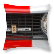 Shelby Gt 500 Throw Pillow
