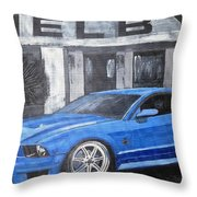 Shelby Mustang Throw Pillow