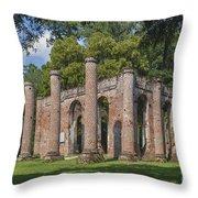 Sheldon Church 193 Throw Pillow