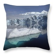 Sheldon Glacier Throw Pillow