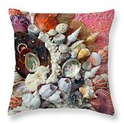 Shell Creation  13 Throw Pillow