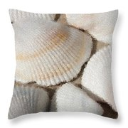 Shell Effects 1 Throw Pillow