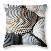 Shell Effects 5 Throw Pillow