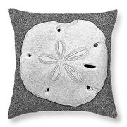 Shell Effects 9 Throw Pillow