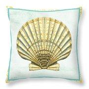 Shell Finds-a Throw Pillow