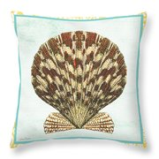 Shell Finds-d Throw Pillow by Jean Plout