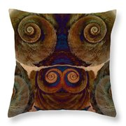 Shell Group 1 Throw Pillow