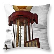 Shell Invisible Pump Color Throw Pillow