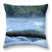Shell Rock Rapids Two Throw Pillow