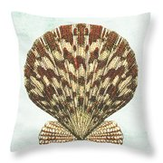 Shell Treasure-d Throw Pillow by Jean Plout