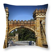 Shellhaven Bridge Throw Pillow
