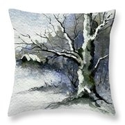 Shelly's Tree Throw Pillow