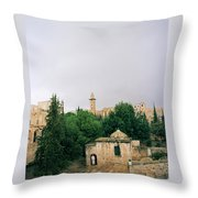 Historic Jerusalem Throw Pillow