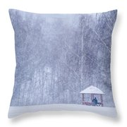 Shelter In The Storm - Featured 3 Throw Pillow