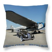 Shelter Of Your Wings Throw Pillow