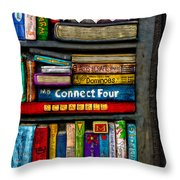 Shelved-15 Throw Pillow